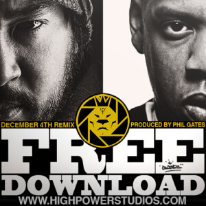 """Jay Z """"December 4th"""" remix produced by Phil Gates - Highpower Studios Chicago"""