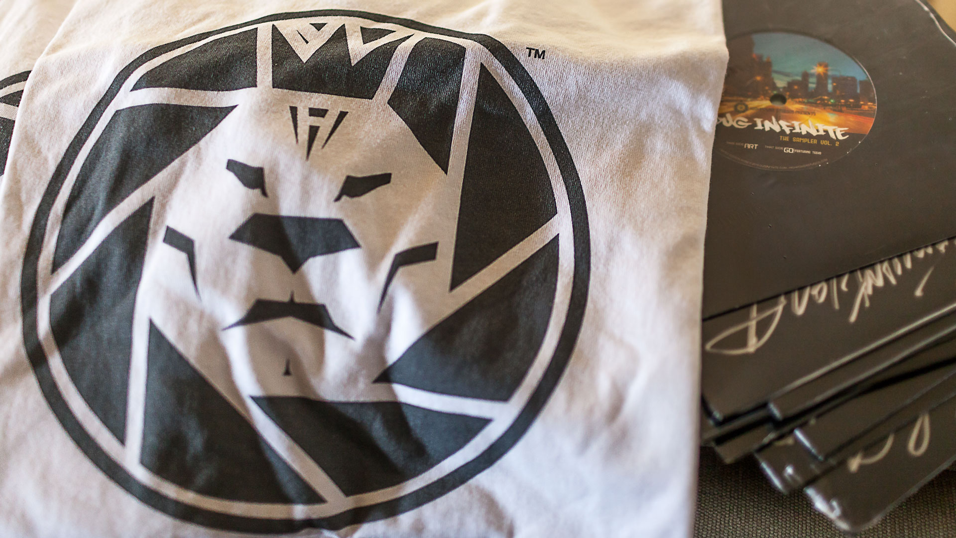 "Highpower Studios ""White Label"" Classic Logo T-shirts Test Prints"