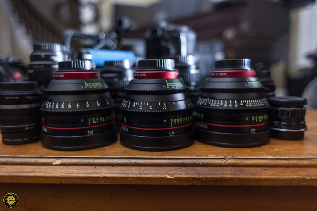 Canon Cinema CN-E Lenses at Highpower Studios