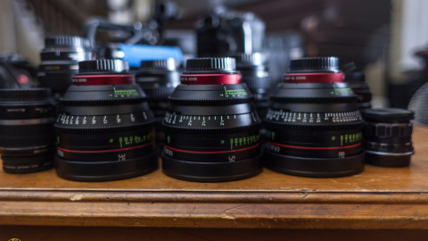 Canon Cinema CN-E Lenses at Highpower Studios