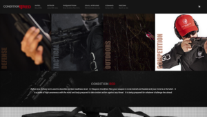 Condition Red Arms E-commerce Website